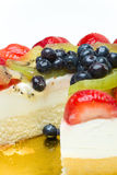 Fruchtkuchen Stockbild