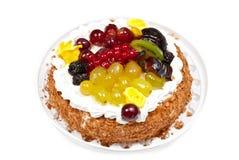 Fruchtkuchen Stockfoto