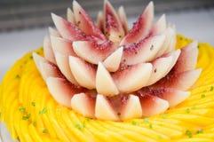 Fruchtkuchen Stockfotos