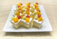 Fruchtkuchen für Partei Stockbild