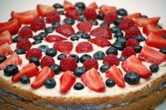 Fruchtkuchennachtisch, Torte Stockfotos