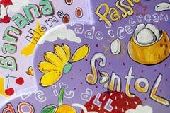 Fruchtmalereien Lizenzfreies Stockfoto