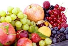 Fruchtmehrlagenplatte Lizenzfreie Stockbilder