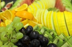 Fruchtmehrlagenplatte Stockfotografie