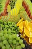 Fruchtmehrlagenplatte Lizenzfreies Stockfoto