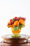 Fruchtmodell Lizenzfreie Stockbilder