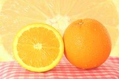 Fruchtorange stockbilder