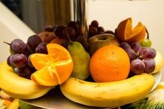 Fruchtplatte stockfoto