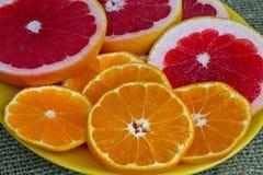 Fruchtplatte Stockfotos