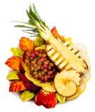 Fruchtplatte Stockfotografie