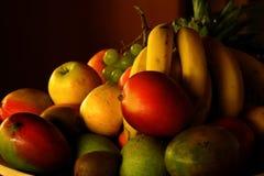 Fruchtplatte Lizenzfreie Stockfotos