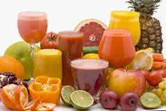 Fruchtsaft Lizenzfreie Stockbilder