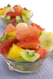 Fruchtsalat Stockbild