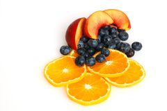 Fruchtsalat Lizenzfreies Stockbild