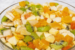 Fruchtsalat Stockfotos