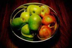 Fruchtschüssel Stockfoto