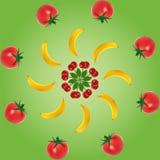 Fruchtschichten Stockbild