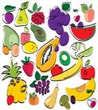 Fruchtset Stockfotos