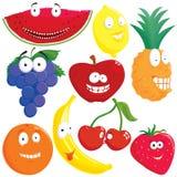 Fruchtset Lizenzfreies Stockfoto