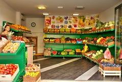 Fruchtshop Lizenzfreies Stockbild