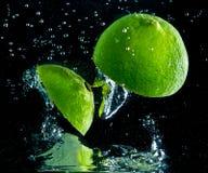 Fruchtspritzen Stockfoto