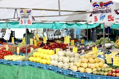 Fruchtstall stockfotografie