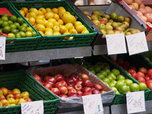Fruchtstall stockbilder