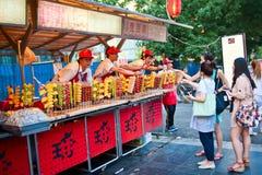 Fruchtverkäufer Lizenzfreie Stockfotografie