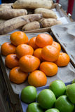 Fruchtverkäufer Stockbild