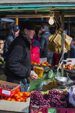 Fruchtverkäufer Lizenzfreies Stockbild