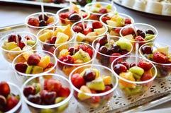 Fruchtverpflegungslebensmittel, Abschluss oben Stockfotos
