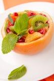 Fruchtzitrusfruchtsalat Lizenzfreie Stockbilder