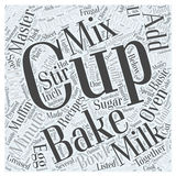Frugal Recipes Using a Basic Baking Mix word cloud concept word cloud concept  background Royalty Free Stock Image