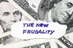 A frugalidade nova Imagens de Stock