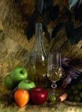 fruist白葡萄酒 免版税库存图片