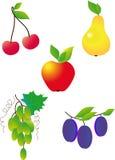 Fruit. Tasty fruit isolated on a white background Royalty Free Stock Image