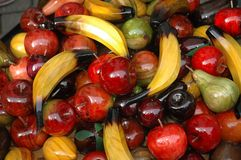 Fruit. Group of fruit on display Stock Images