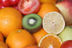 Fruit. Close up fruit orange – detail Stock Photo