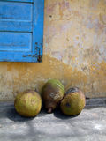 Fruit. Trio of exotic fruit in Vietnam Royalty Free Stock Images