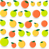 Fruit. Vector illustration -fruit fog desing Stock Image