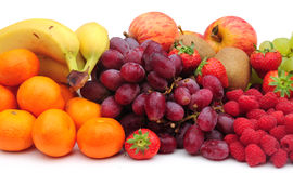 Fruit. Shot of some healthy fresh fruit on white Royalty Free Stock Image