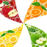 Fruit abstract Stock Photography