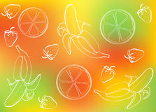 Fruit abstract background Royalty Free Stock Image