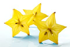 Fruit Abstraction-slices Carambola Stock Image