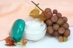 Fruit acid cream Royalty Free Stock Photography