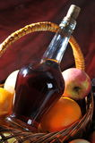 Fruit and alcohol. Royalty Free Stock Image