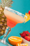 Fruit alcoholic drink Stock Photography