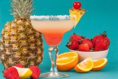 Fruit alcoholic drink Royalty Free Stock Image