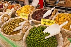 Fruit & Plantaardige Tribune in Castiglione del Lago Royalty-vrije Stock Foto