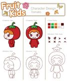 Fruit And Vegetable Baby 1 Stock Images